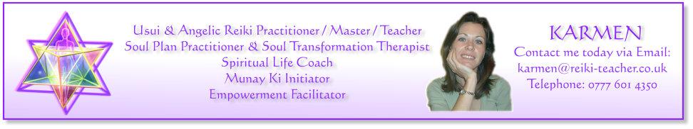 Karmen Nicolas - Spiritual Life Coach